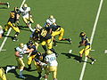 Shane Vereen rushes at UCLA at Cal 10-25-08 1.JPG