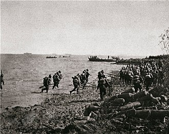 Second Sino-Japanese War - Japanese landing near Shanghai, November 1937