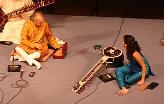 Anoushka Shankar - Anoushka and Ravi Shankar in concert, 2005