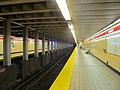 Shawmut inbound platform, November 2015.JPG