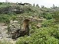 Sheep on Portugese Bridge, Debre Libanos, Ethiopia - panoramio.jpg
