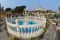 Sheetalnath Temple with Fountain - Sheetalnath Temple and Garden Complex - Kolkata 2014-02-23 9493.JPG