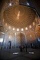 Sheikh Lotf Allah Mosque interior ceiling dome Esfahan.jpg