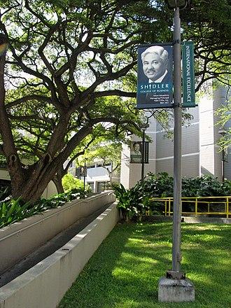 Shidler College of Business - Image: Shidler Buildings