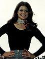 Shirley Cothran, Miss America 1975 aboard USS John F. Kennedy (CV-67) 1975.jpg