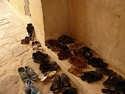 Shoes. Monastery in Egypt (9198223165).jpg