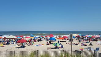 Bethany Beach, Delaware - A view of the beach in Bethany Beach