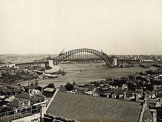 Sydney Church of England Grammar School - View from the North Sydney campus, 1931