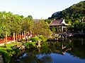 Shuangxi Park Pond and Pavilion in East Section 20131010b.JPG