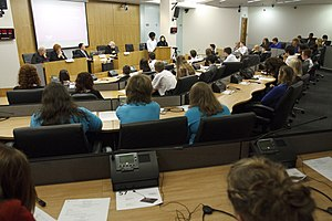 Tŷ Hywel - Siambr Hywel debating chamber