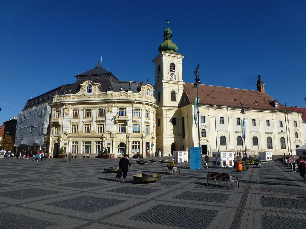Stadtpfarrkirche Hermannstadt (Sibiu), Rumänien - Krekeler ...  |Hermannstadt