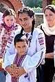 Sibling in traditional vyshyvanka Ukraine 2017.jpg