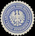 Siegelmarke Amtsbezirk XVIII Oersdorf Kreis Rendsburg W0360486.jpg