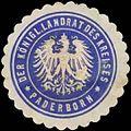 Siegelmarke Der K. Landrat des Kreises Paderborn W0387697.jpg