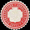 Siegelmarke Gemeinde-Rath der Stadt Schwarzwasser W0320478.jpg