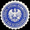 Siegelmarke K. Spezial - Kommission zu Bad Oeynhausen W0204654.jpg
