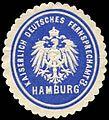 Siegelmarke Kaiserlich Deutsches Fernsprechamt 3 - Hamburg W0228812.jpg