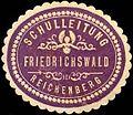 Siegelmarke Schulleitung Friedrichswald bei Reichenberg W0308997.jpg