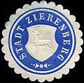 Siegelmarke Stadt Zierenberg W0226282.jpg