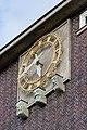 Sievekingplatz 1 (Hamburg-Neustadt).Erweiterungsbau.Nordwestfassade.Uhr.2.12620.ajb.jpg