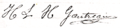 Signature Henri Gautreau 1886.png