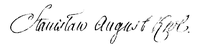 Signature of Stanisław August Poniatowski.PNG