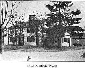 Maynard, Massachusetts - Circa 1764 home of Revolutionary War minuteman Luke Brooks, still stands at  88-90 Summer Street in Maynard