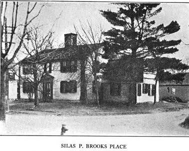 Silas P Brooks House Maynard MA