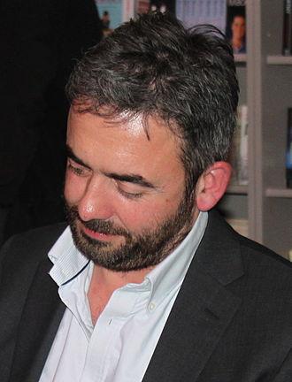 Simon Blackwell - Blackwell at the Cheltenham Literature Festival in 2010