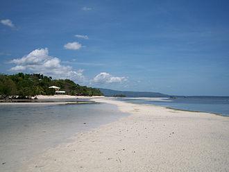 Siquijor - Image: Siquijor Sandugan Beach
