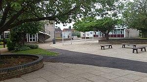 Sir Frederic Osborn School - Image: Sir Frederic Osborn School Area