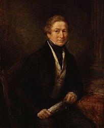 John Linnell: Sir Robert Peel, 2nd Bt