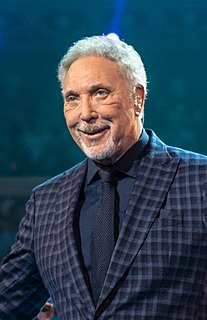 Tom Jones (singer) Welsh singer