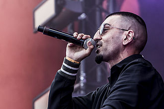 Sivas (rapper) - S!vas at Roskilde Festival (2014)