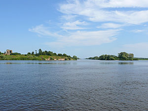 Rurikovo Gorodische - Holmgard from Lake Ilmen