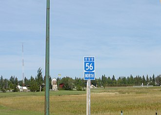 Saskatchewan Highway 56 - Image: Sk 56