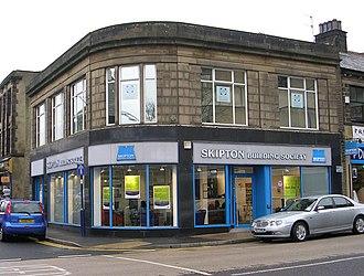 Skipton Building Society - Skipton Building Society, Bingley.