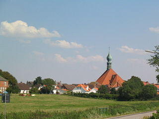 Wesselburen Place in Schleswig-Holstein, Germany