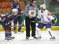 Slovenia VS USA at the IIHF World Hockey Championship 2008 (14).jpg