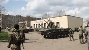 File:Sloviansk - Self-Defence climb into APC as it leaves.webm