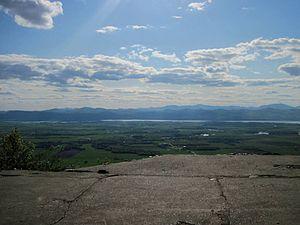 Snake Mountain (Vermont) - Summit of Snake Mountain,VT