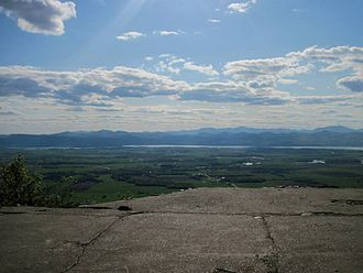 Snake Mountain (Vermont) - Summit of Snake Mountain,VT