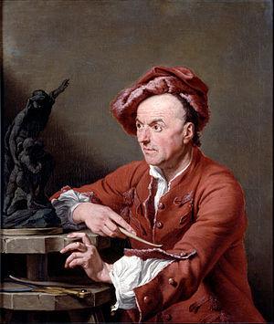 1751 in art - Image: Soldi, Andrea Louis François Roubiliac Google Art Project