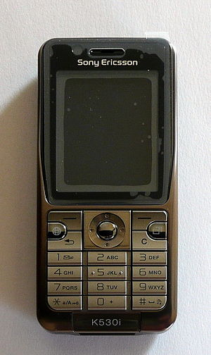 The Sony Ericsson K530i – 3G mobile phone.