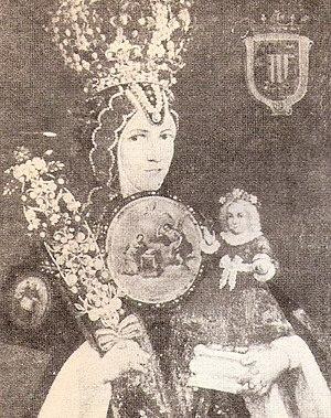 English: Sor Juana Inés de la Cruz according t...