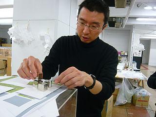 Sou Fujimoto Japanese architect (born 1971)