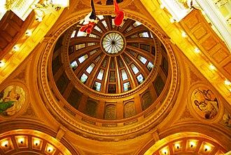Charles E. Bell - Rotunda of the South Dakota State Capitol