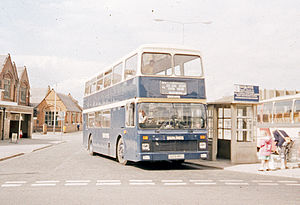 South Notts Bus Company - Northern Counties bodied Leyland Olympian in Loughborough