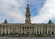 The South Melbourne Town Hall, one among many surviving civic buildings from the Victorian era