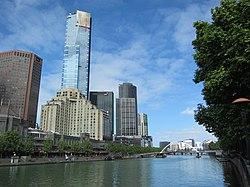 Southbank skyline and Yarra River.jpg